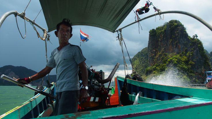 Runner boat from James Bond Island