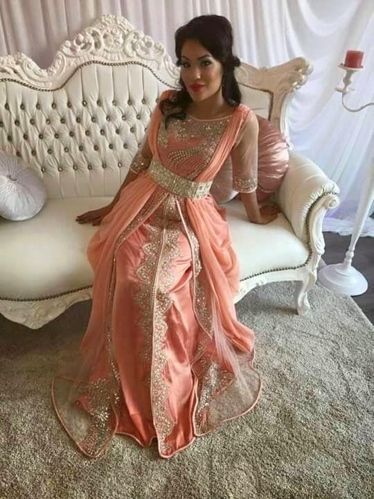 Robe marocaine de luxe 2018
