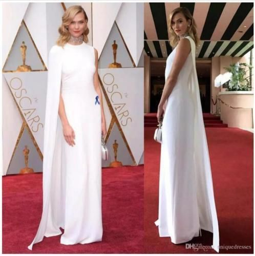 26fc92780ead Long White Mermaid Elegant Celebrity Evening Dresses Capes Gown Custom all  Size #fashion #clothing #shoes #accessories #womensclothing #dresses (ebay  link)