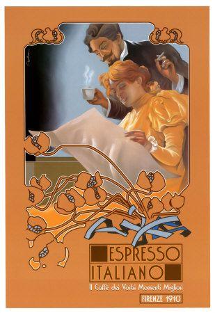 Vintage Espresso Italiano Coffee
