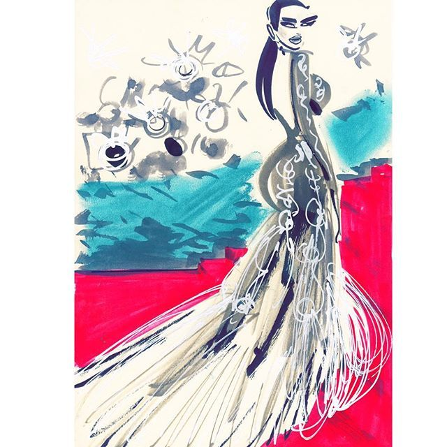 I am the Party! Kim rocks the dress Roberto Cavalli MET GALA #metgala #robertocavalli #kimkardashian #redcarpet #curves #fashionart #art #artwork #artist #fashiondrawing #fashionillustration #drawing #draw #fashionillustrator #illustration #illustrator #sketch #quicksketch #fashiondrawing #designer #couture #redcarpetdress #sexycurves