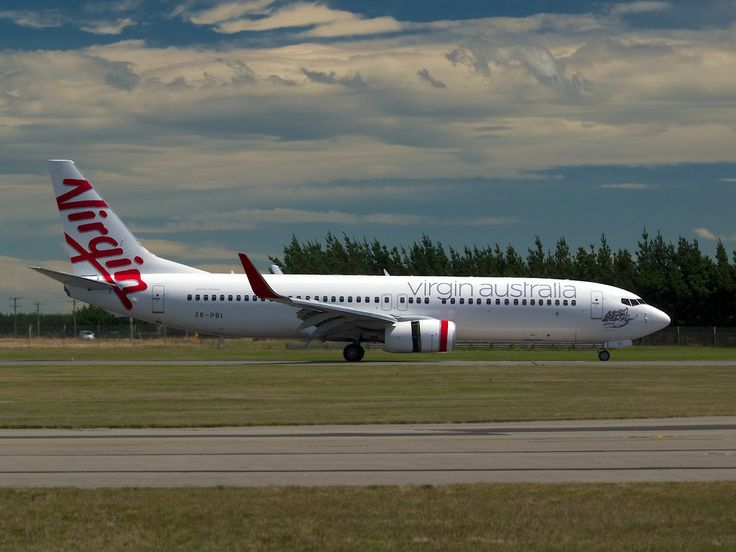 New Zealand Aircraft • Virgin Australia 737-800 at Christchurch Type:...