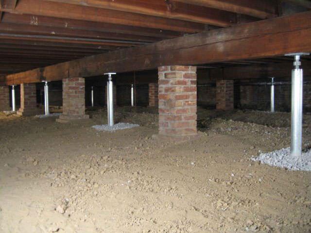 The smartjack system provides solid support for sagging for What does crawl space foundation mean
