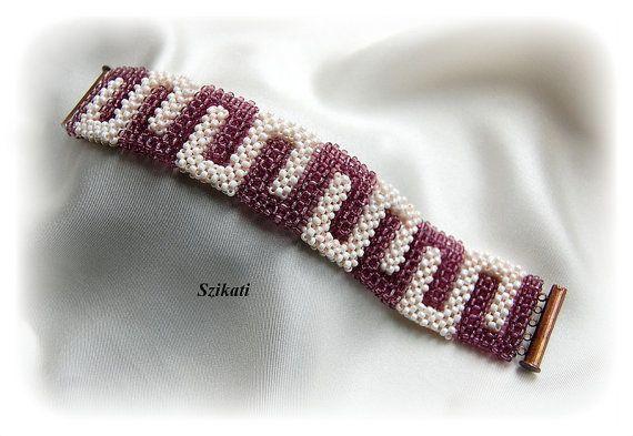 Darmowa wysyłka, beżowy / Aubergine Seed instrukcja Bead Bracelet, sztuka…                                                                                                                                                                                 Mehr