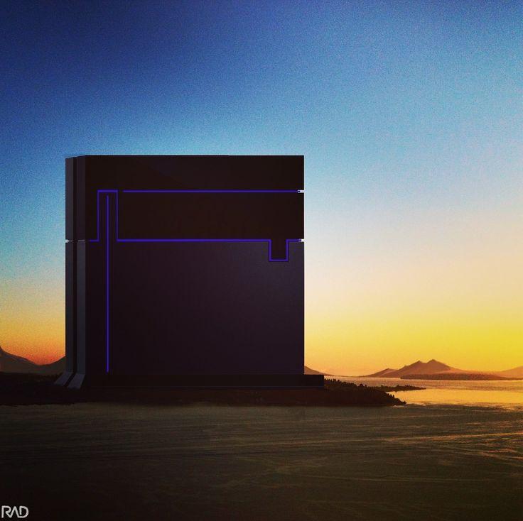 ArtStation - the black building, RUBEN Martinez