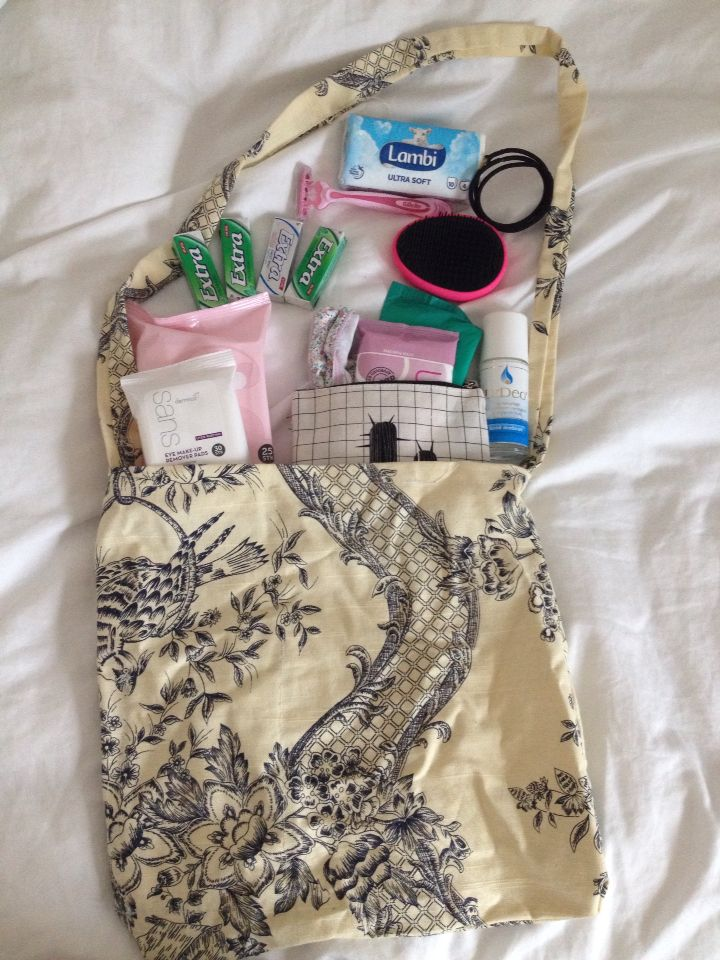 A super smart survival kit for teenager girls keep it in