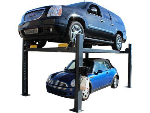 Atlas 408 Sl Premium 8 000 Lbs Capacity Portable Hobbyist 4 Post Lift 4 Post Lift Four Post Lift Lifted Cars