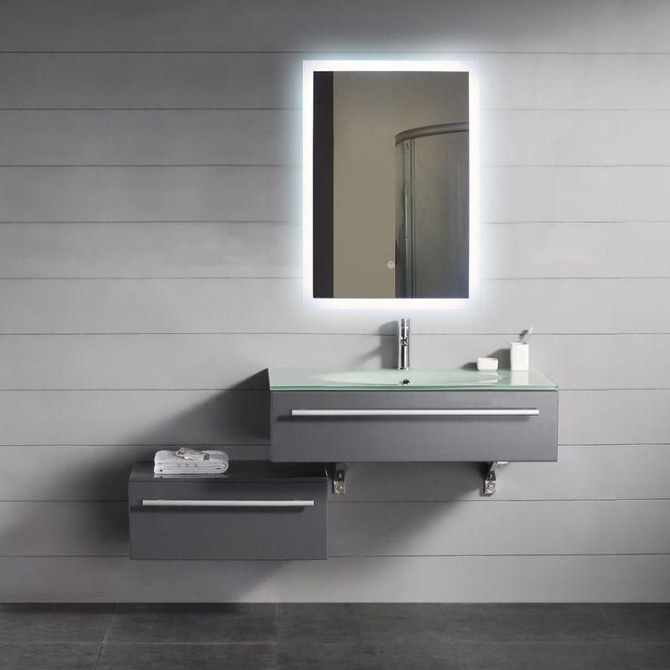 Die besten 25+ Illuminated mirrors Ideen auf Pinterest   Spiegel ...