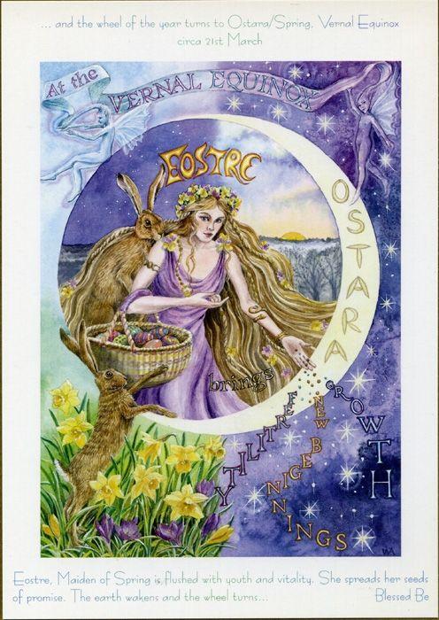 Goddess Wheel of the Year - Ostara/Spring Equinox