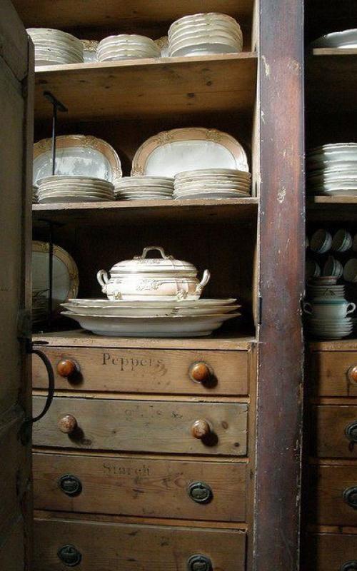 Butler's pantry built ins