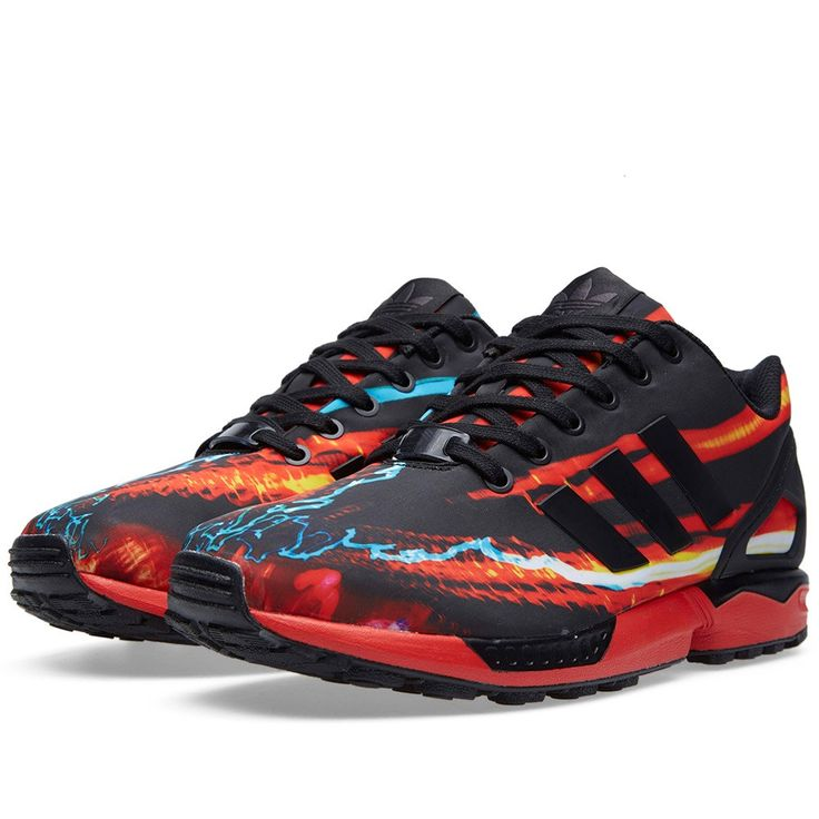 Adidas ZX Flux (Red & Core Black)