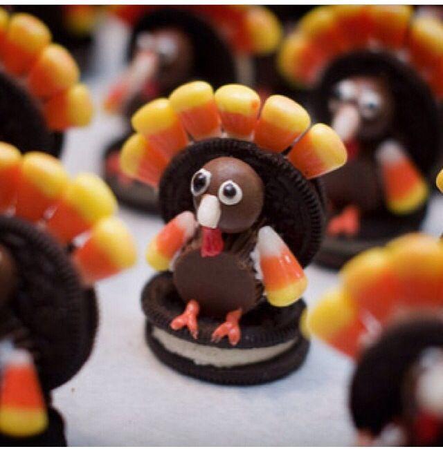 Cute Thanksgiving Snack Ideas