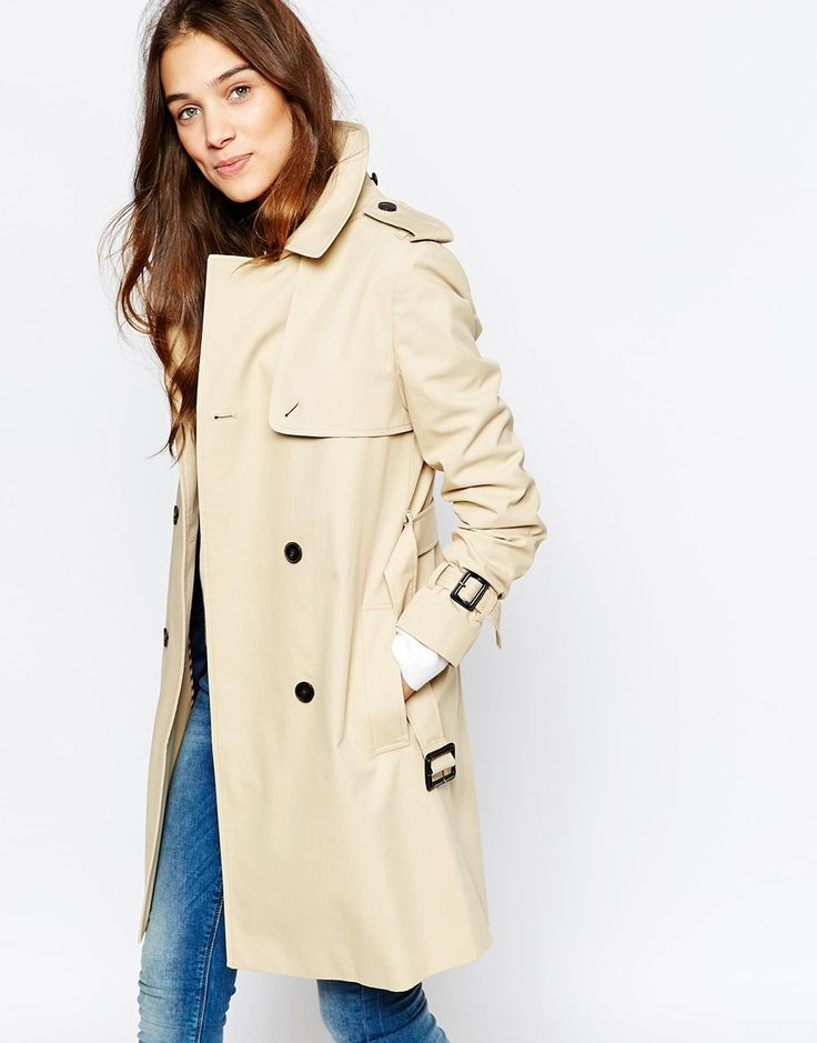 Jack+Wills+Traditional+Belted+Trench+Coat