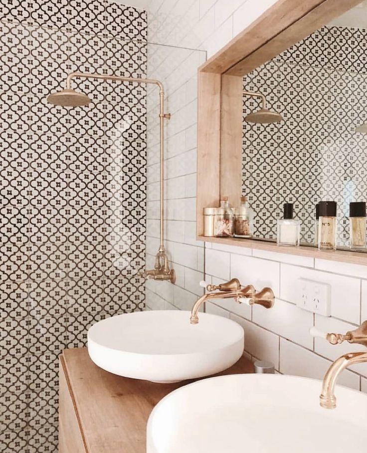 badkamer | bathroom | gold | wasbakken | tegels | …
