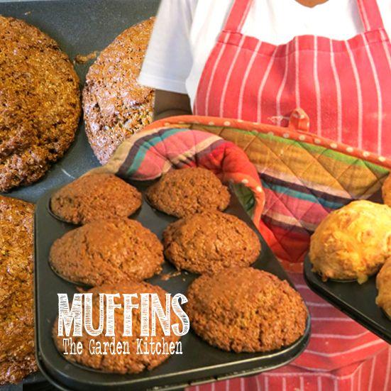 home baked MUFFINS   The Garden Kitchen