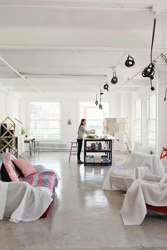 Lovely Open Studio Space Via Design Love Fest. Part 64
