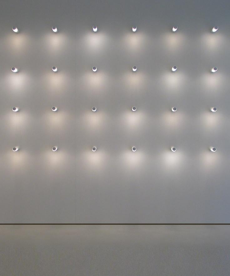 Wall of lights, Ozen Vetro by Davide Groppi