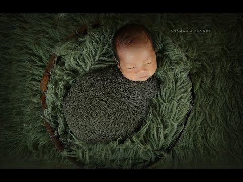 Newborn Baby Jacob Transitional Posing Video