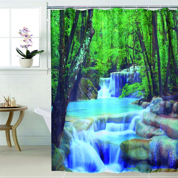 Fabric polyester waterfall 3D waterproof shower curtain    $ 24.38 and FREE Shipping    Tag a friend who would love this!    Get it here ---> https://memorablegiftideas.com/fabric-polyester-waterfall-3d-waterproof-shower-curtain/    Active link in BIO      #fashionable #stylish Fabric polyester waterfall 3D waterproof shower curtain