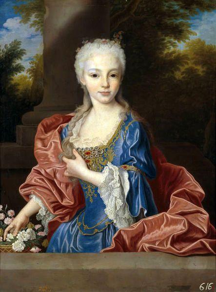 Maria Ana Victoria de Borbon (7 Years Old)