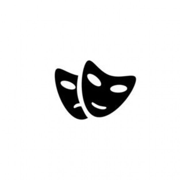 theatre mask drawing - Google Search
