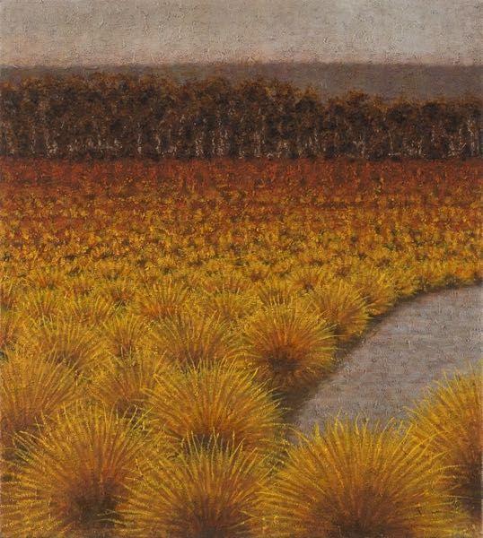 Richard Wastell-The Quiet Lagoon