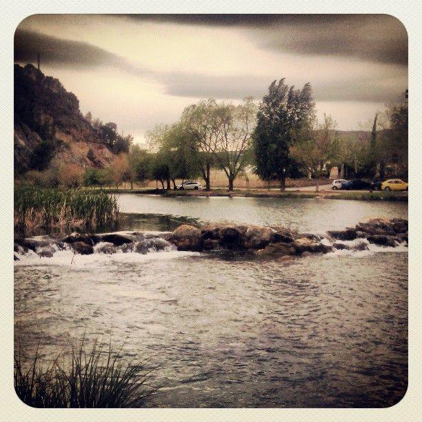 En el río de Bugarra