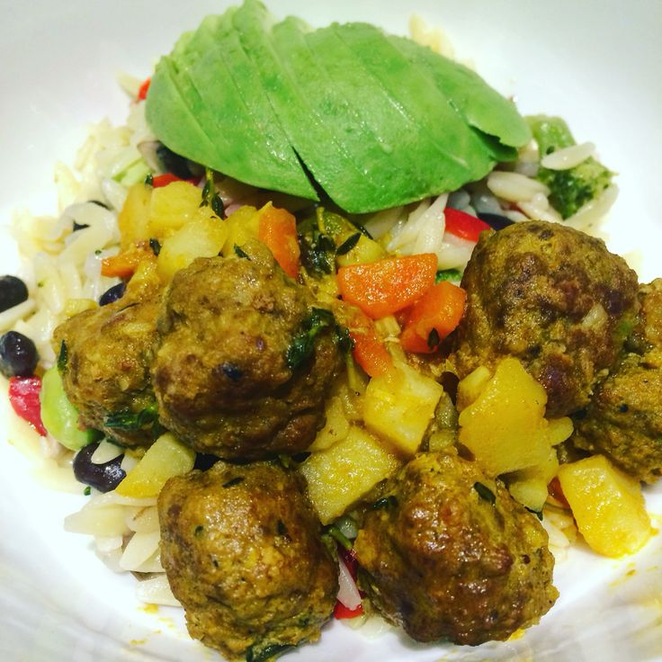 Curry Meatballs  ... So Yummyyyyyy