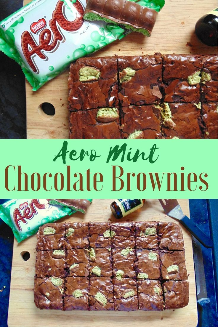 Aero Mint Chocolate Brownies