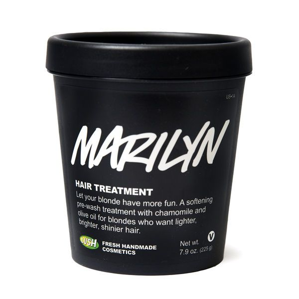 Marilyn Hair Treatment Hair Moisturizer | Hair Treatments | LUSH Cosmetics - naturally lightens up blonde hair