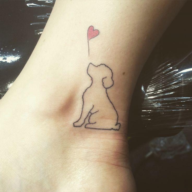 Tattoo ❤️ #dogtattoo #love #sp #poodle #rambo