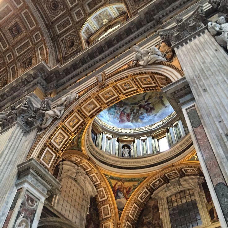 Inside St. Peter's Rome