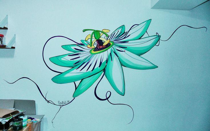 https://flic.kr/p/Cscdd7 | Pasionaria para PuraVida | Cerrando el año y deseándoles los mejores deseos para el año que viene con una pasionaria que nos trae calma y armonía en esta lunita llena de hoy y mañana  <3 <3 para el taller de PuravidA en Belgrano (Buenos Aires)   Una Flor para otra Florrrr Por: PickaBel