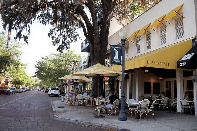Downtown Winter Park Small Town Sunshine Pinterest Parks Art And Orlando