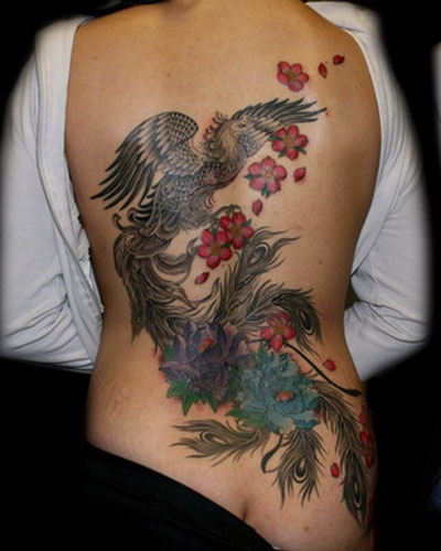 Inspiration For Future Back Piece #Phoenix #Tattoo