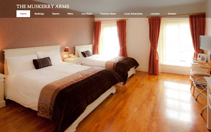 We just got a new online look. Have you seen our new website? http://www.muskerryarms.com