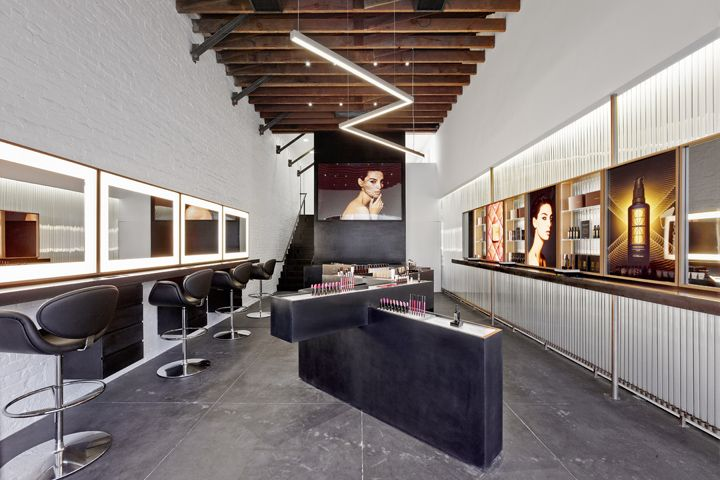 Hourglass Flagship Store by Standard Architecture, Venice   California cosmetics