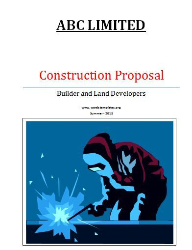 21 best Stuff to Buy images on Pinterest Proposals, Proposal - construction proposal template word