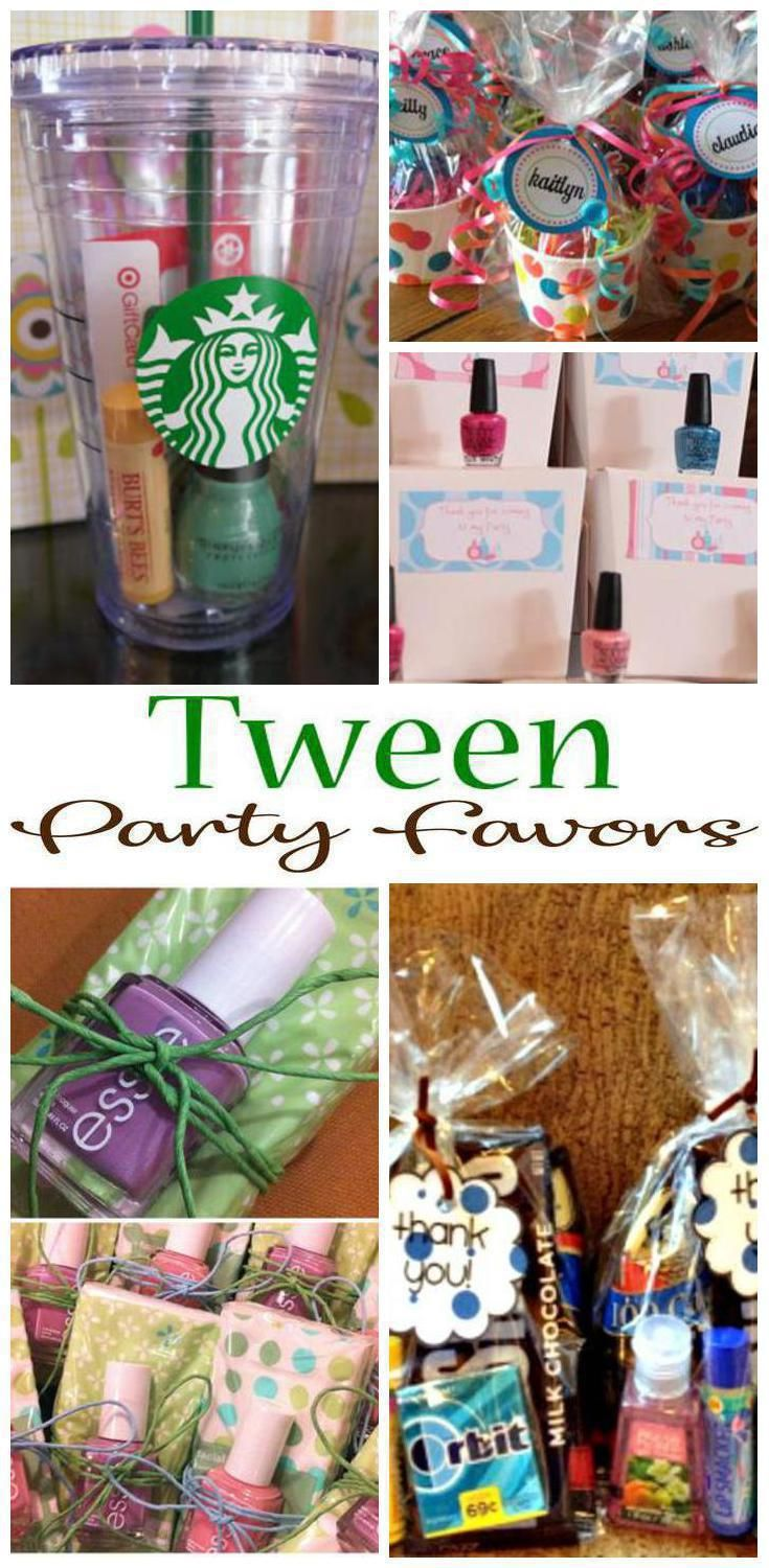 fcf6c9c55 Tween party favors! Find amazing tween party favors that all girls will  love and boys