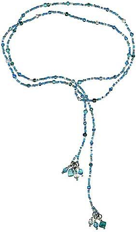 Lariat necklace information from Rings & Things *i would looooove to make one of these to go with my wardrobe*