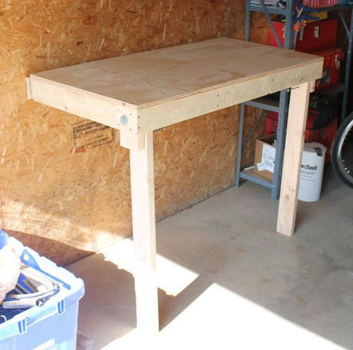 Budget Friendly Folding Workbench 25 Folding