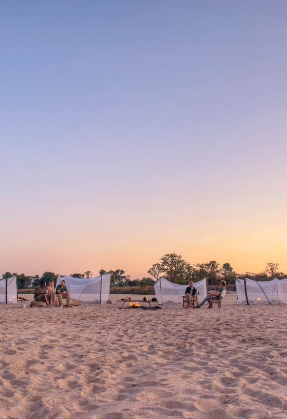 """South Luangwa is what many other popular safari destinations """"used to be like"""": small, intimate camps and one of the densest assemblages of big and small game in Africa. Timbuktu Travel."""
