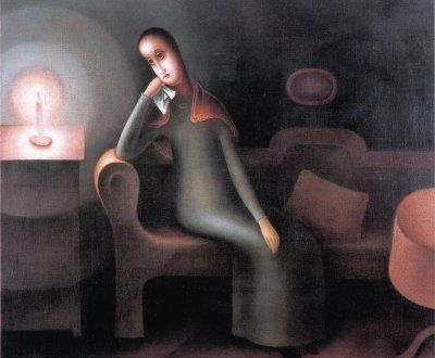 Jan Zrzavý, Melancholy, 1920
