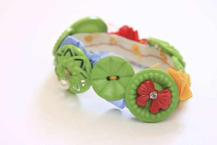 So cute - use some pretty vintage buttons and beautiful ribbon or lace.