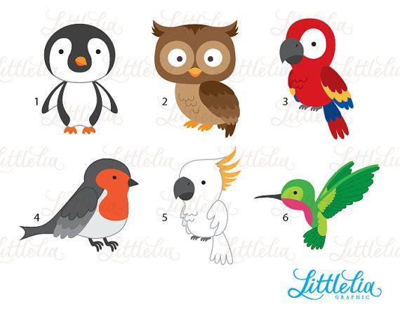Pin On Clipart Little Kids Animals Birds