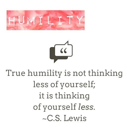 The first time I asked my momma (southern voice) what humility was she responded without hesitation. True humility is not thinking less of yourself; it is thinking of yourself less. I understood the concept immediately and it is still my working definition today. Mention some of those awesome people in your tribe that practice #Humility - Here is what the VIA test results have to say on humility. A common misconception is that humility involves having a low #self-esteem a sense of…