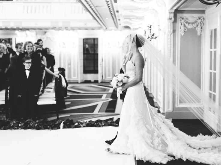35 Wedding Ceremony Processional Songs | Photo by: T&S Hughes Photography | TheKnot.com