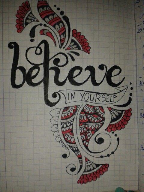 Believe in yourselft Instagram : wikaa_dx