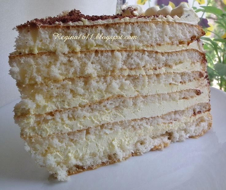 рецепт торта молочная девочка с фото