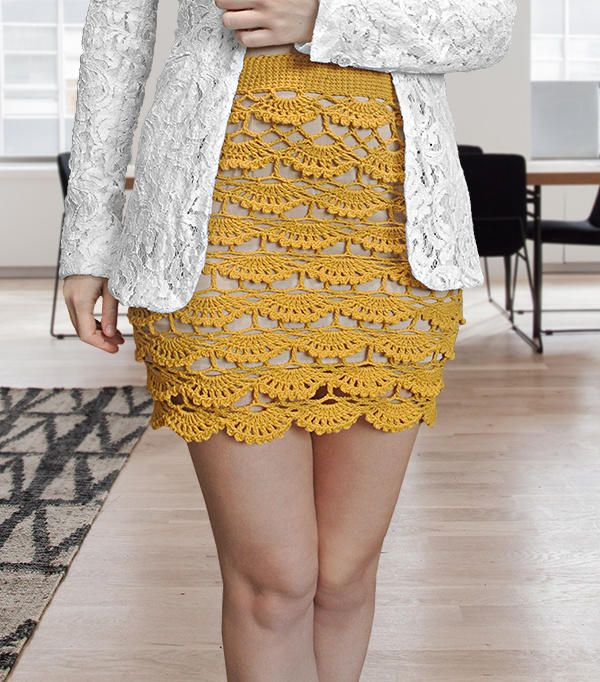 Crochet Skirt Pattern by janegreen